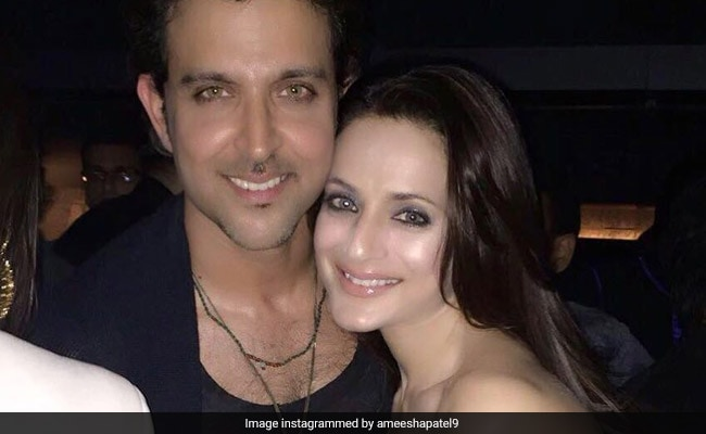 For 'Darling Hrithik Roshan,' A Birthday Wish From First Heroine Ameesha Patel