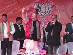 "Amit Shah In Meghalaya, Says Will Turn It Into A ""Model State"""