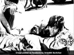 Amitabh Bachchan Reposts <i>Khoon Pasina</i> Pic With Tiger, Adds This Abhishek Detail