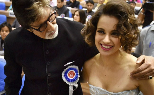 Amitabh Bachchan And Kangana Ranaut Could Be Co-Stars Soon