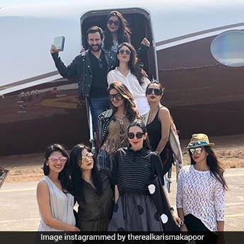 Karisma Kapoor And Squad Show Us How To Travel In Style