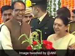 Anandiben Patel Takes Oath As Madhya Pradesh Governor