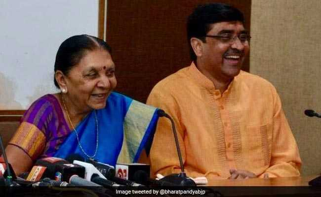 Ex-Gujarat Chief Minister Anandiben Patel Appointed Madhya Pradesh Governor