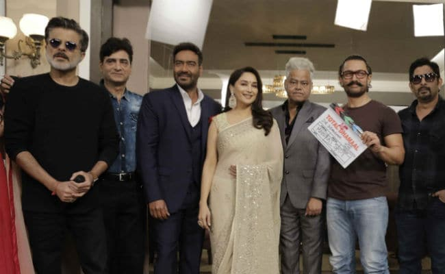 When Madhuri Dixit, Aamir Khan And Anil Kapoor Unite, It's Total Dhamaal