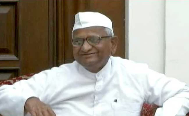 My Agitation Won't Give Rise To Another Kejriwal: Anna Hazare