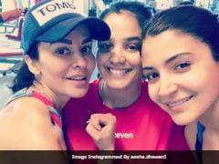 Anushka Sharma Trains With Shikhar Dhawan's Wife Aesha And Daughter. Pic Here