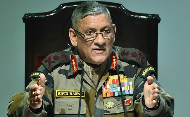 Time Has Not Come For Any Rethink On AFSPA: Army Chief