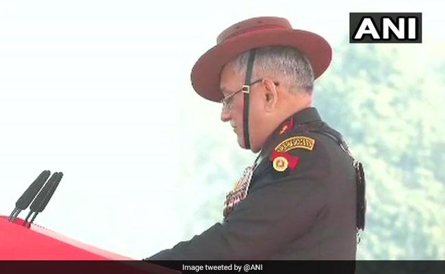 आर्मी डे पर सेना प्रमुख बिपिन रावत बोले- पाक की किसी भी कार्रवाई का जवाब देने के लिए हम तैयार