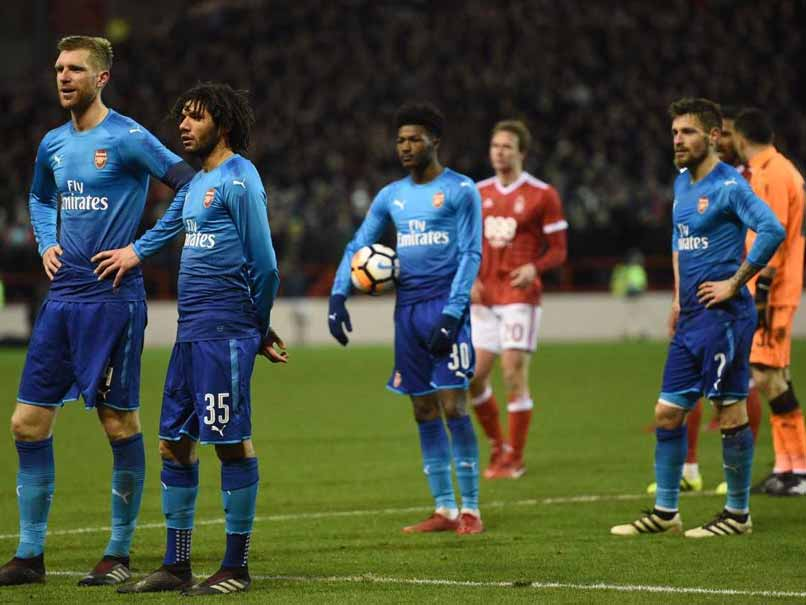 FA Cup: Holders Arsenal Dumped Out After 2-4 Loss To Nottingham Forest