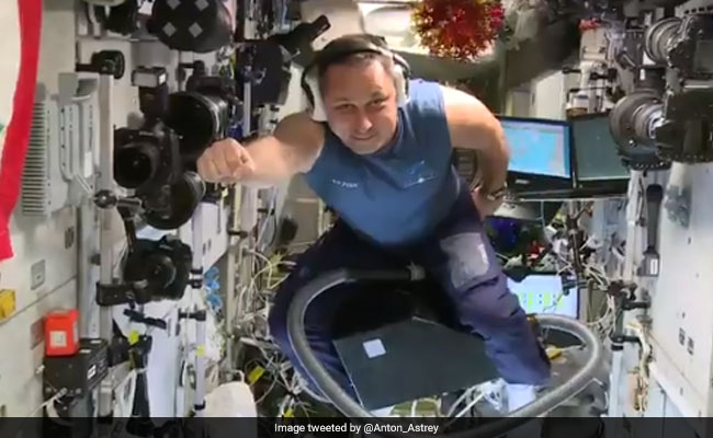 Can You Fly A Vacuum Cleaner In Space? Astronaut Finds Out. Watch