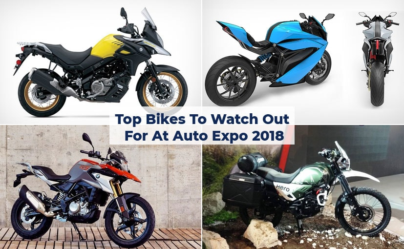 Here's a look at the best bikes of the Auto Expo 2018.