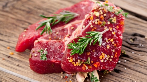 avoid red meat while flying
