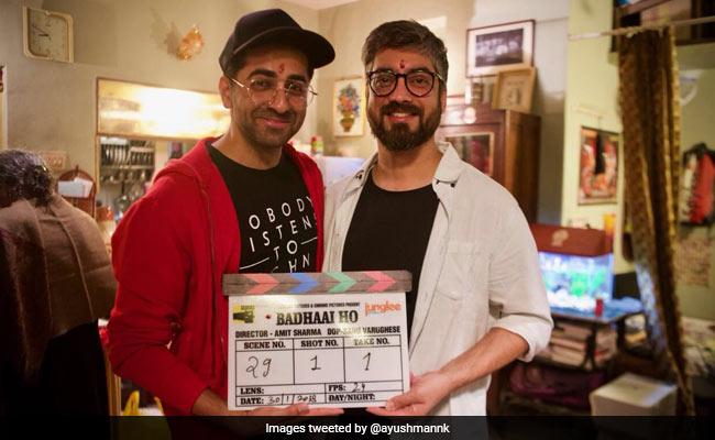 Badhaai Ho, Ayushmann Khurrana Begins His New Film. See Director's Post