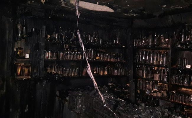 bengaluru fire kailash bar ndtv
