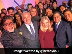 In Mumbai, An Oscars-Style Selfie For Israel PM Taken By Amitabh Bachchan