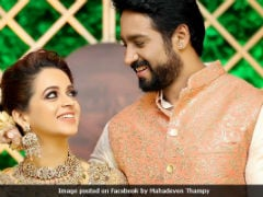 Viral: New Pics From South Actress Bhavana's Wedding And Reception
