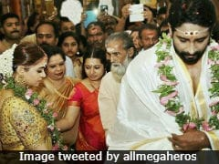 Malayalam Actress Bhavana Marries Producer Naveen. See Pics