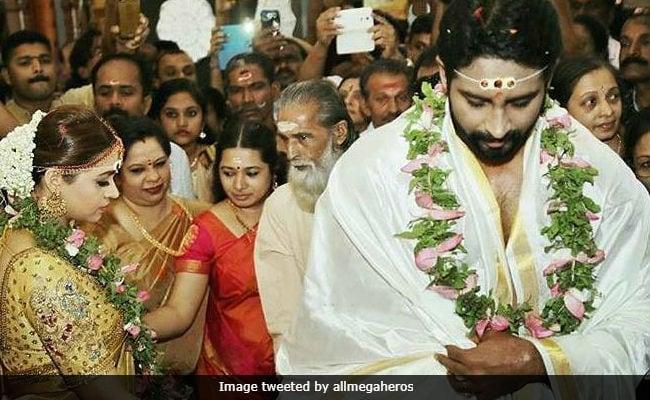 Malayalam Actress Bhavana Marries Producer Naveen. See Pics