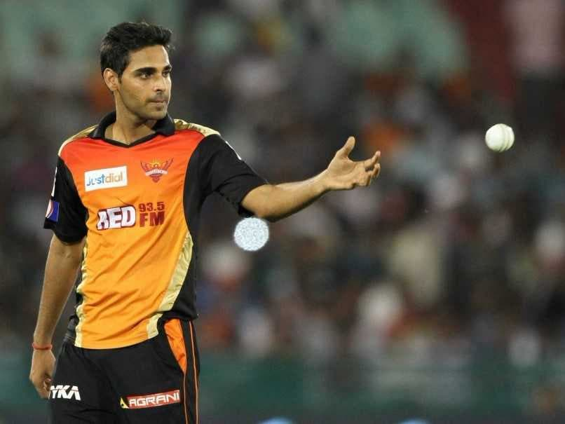 SRH bowling attck led by Bhuvi went the journey. (AFP)