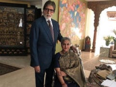 Amitabh Bachchan And Jaya Bachchan In A Wonderful Pic Clicked By Daughter Shweta