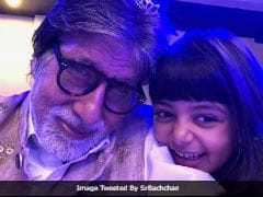 Inside Amitabh Bachchan's New Year Celebrations With Granddaughters Navya Naveli And Aaradhya