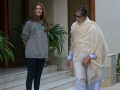 Amitabh Bachchan Posts Pics Of Shweta, Reminds Us That 'Daughters Are The Best'