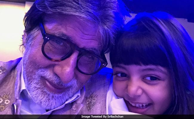 Inside Amitabh Bachchan's New Year Celebrations With Granddaughters Navya Naveli And Aaradhya