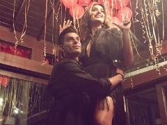 Inside Bipasha Basu's Birthday With Karan Singh Grover And Some Red Balloons