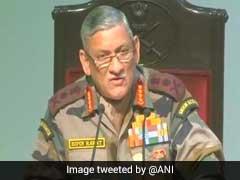 'अफस्पा' हटाने या उसके प्रावधानों को हल्का बनाने को लेकर सेना प्रमुख ने दिया यह बयान