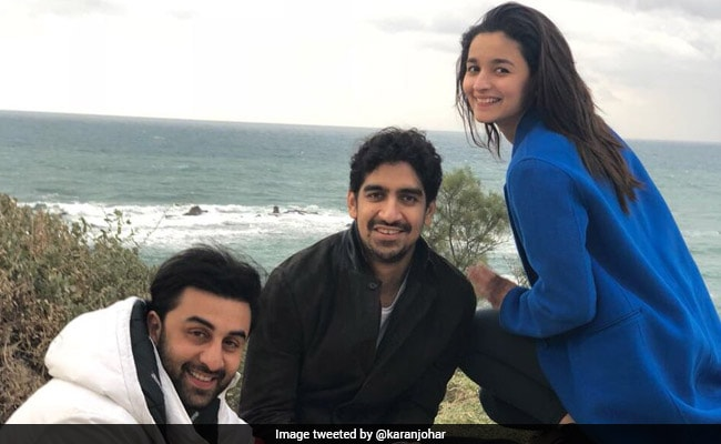 Brahmastra Co-Stars Ranbir Kapoor And Alia Bhatt Are Already At Work. Pic Here