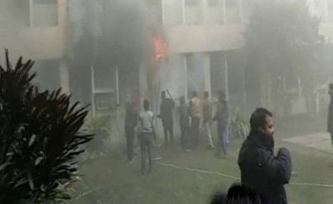 Fire Breaks Out At Gorakhpur's BRD Hospital, No Injuries Reported