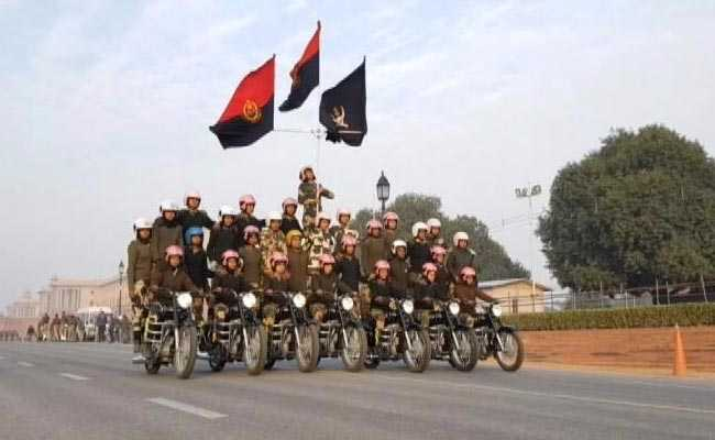 How 113 BSF Women Are Prepping For Motorcycle Stunts This Republic Day