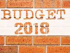 Budget Pegs Fiscal Deficit Target For 2018-19 At 3.3%, Stocks Fall