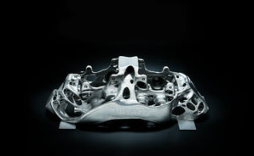 Bugatti's 3D-printed titanium brake calipers are insanely cool