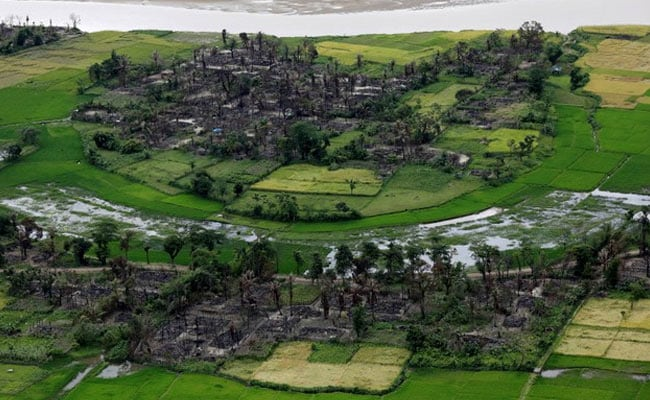 A Visual That Shows Just How Many Rohingya Villages Have Been Burned