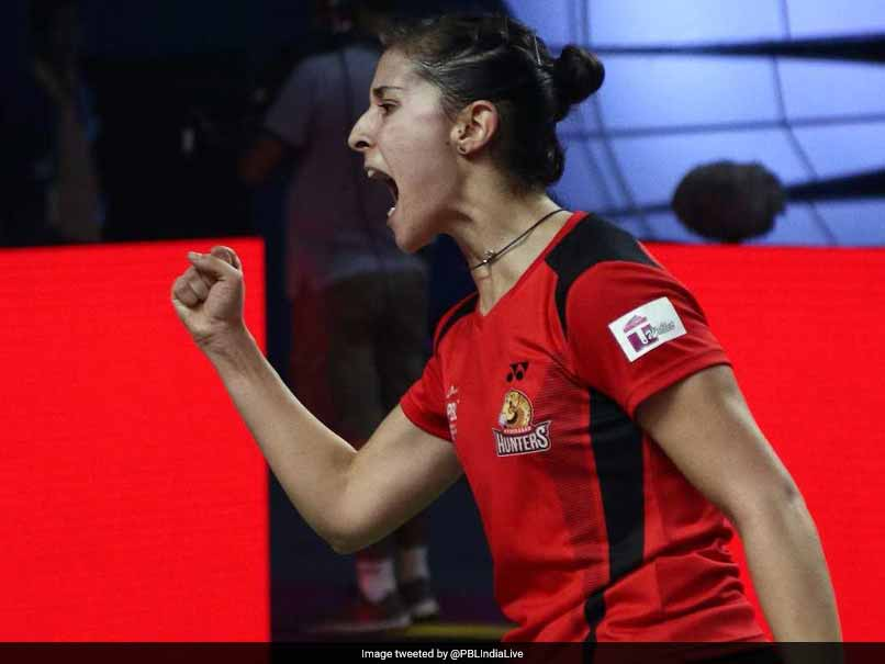 Premier Badminton League: Carolina Marin Beats Saina Nehwal As Hyderabad Hunters Thrash Awadhe Warriors