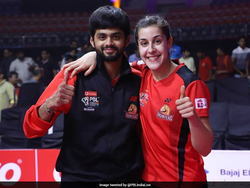 Premier Badminton League: Carolina Marin, Sai Praneeth Carry Hyderabad Hunters In Tournament Final