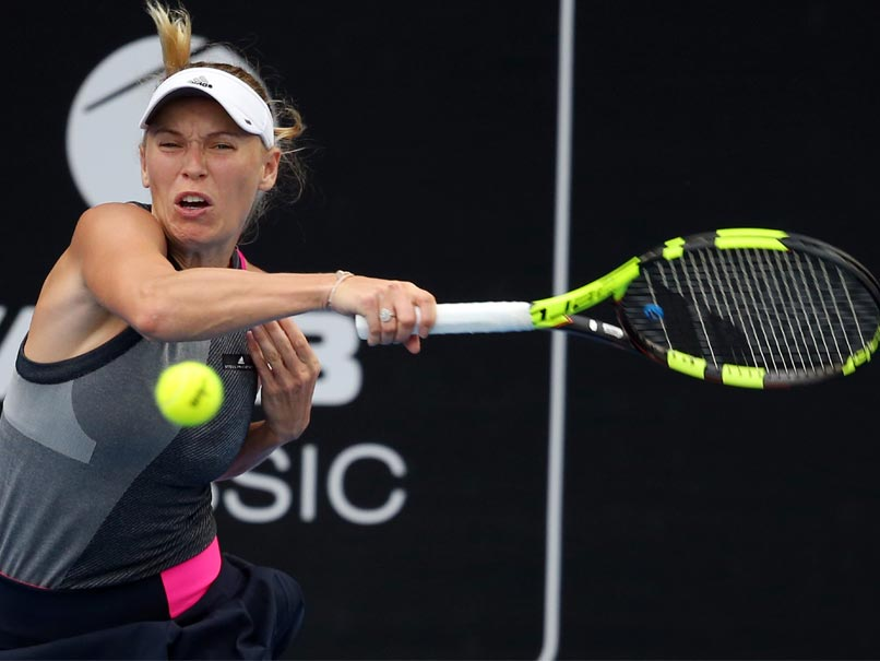 WTA Auckland Classic: Caroline Wozniacki Survives Scare, To Face Julia Goerges In Final