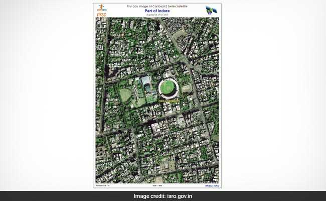 Here's The First Image Sent From Space By ISRO's Cartosat-2