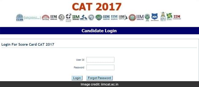 cat 2017 result