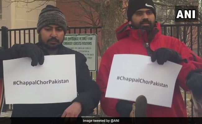 chappal protest in washington