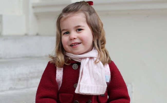 UK's Prince William's Daughter Princess Charlotte Starts Nursery School