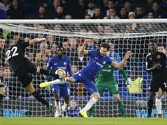 Premier League: Conte Frustrated As 10-Man Leicester City Hold Chelsea