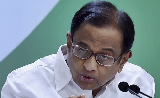 Before Son's Arrest, P Chidambaram Had Filed Petition In Top Court