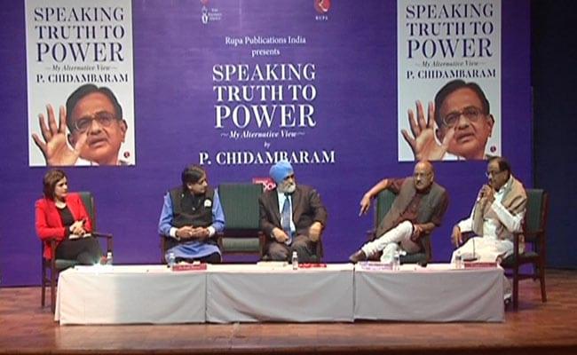 One Nation, One Election A 'Jumla', Says P Chidambaram