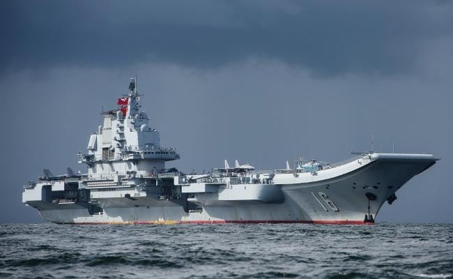 China's Aircraft Carrier Sails By Taiwan As Cross-Strait Tensions Grow