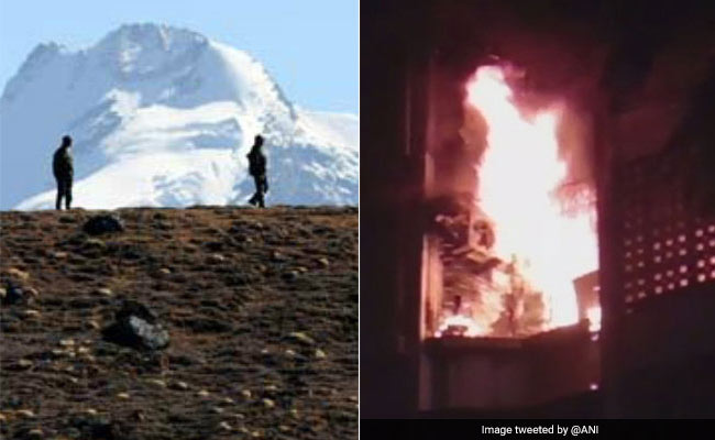 अरुणाचल में 1 किलोमीटर तक घुसे चीनी सैनिक तो मुंबई में एक इमारत में आग लगने से 4 की मौत, अब तक की 5 बड़ी खबरें