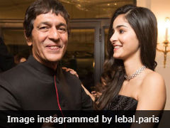 Seen Ananya Panday And Chunky Panday's Father-Daughter Dance Pic At Paris Ball Yet?