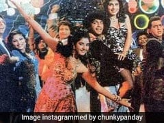 Chunky Panday Thrills Everyone With This Pic Of Divya Bharti From <i>Vishwatma</i>