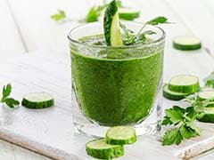 On A Diet? This Low-Cal Cucumber-Kiwi Juice Could Prove To Be A Magic Potion